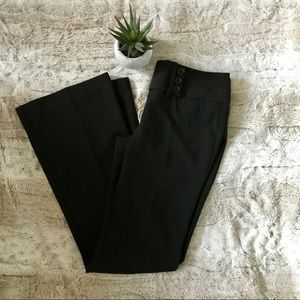Fitted black dress pants size 3